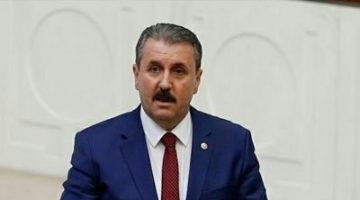 Mustafa Destici 23 Ekim'de Keşan'a geliyor