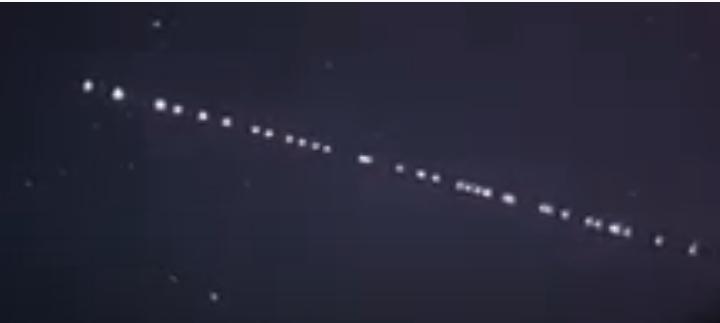 Starling uyduları bu akşam yine Keşan semalarında mı görüldü?