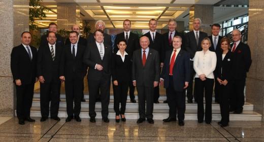 """""""İstanbul Finans Merkezi"""" Projesi'nde Türk – İngiliz özel sektör işbirliği"""