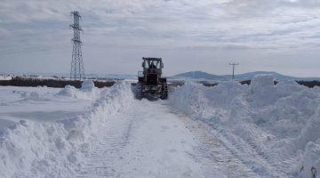 Edirne'de kardan kapanan 156 köy yolu ulaşıma açıldı