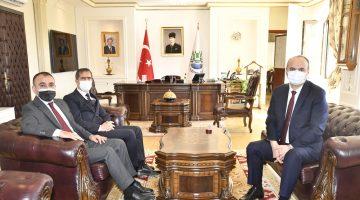 Özel Harekat Başkanı Türker, Edirne Valisi Canalp'i ziyaret etti