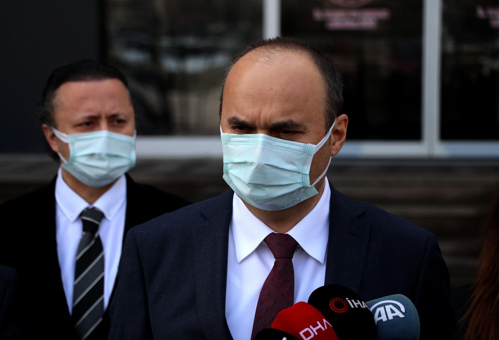 """Kovid-19'da """"çok yüksek riskli"""" kategorisindeki Edirne'de Vali Canalp ziyaretlerin durdurulması çağrısında bulundu"""