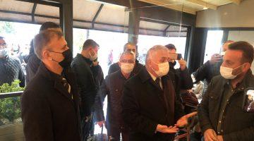 Tekirdağ Valisi Yıldırım Çorlu'da Kovid-19 tedbirlerinin denetimine katıldı