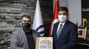 BAŞSAVCI ÇAKMAK'TAN ANADOLU AJANSI'NA ZİYARET