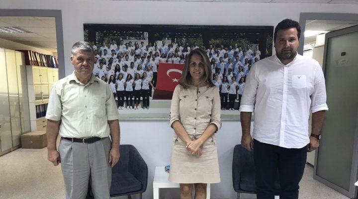 ERDOĞAN DEMİR'DEN TYF BAŞKANI ÖZLEM AKDURAK'A ZİYARET