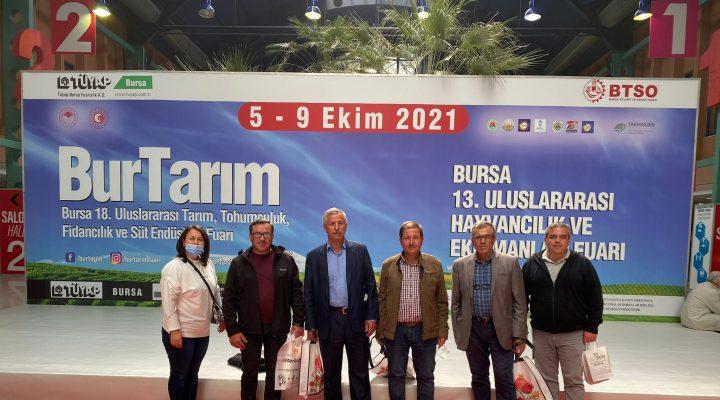Keşan TSO Bursa'da Uluslararası Hayvancılık ve Ekipmanları Fuarına Katıldı