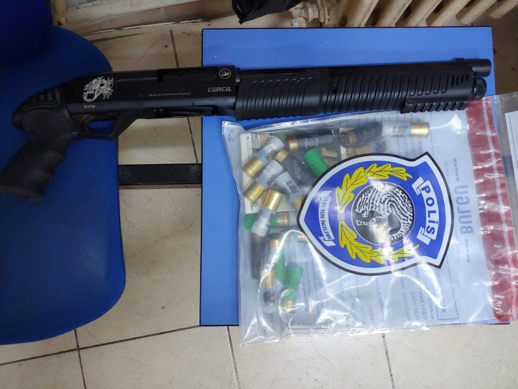 Pompalı tüfekle ele geçirilen kişi gözaltına alındı