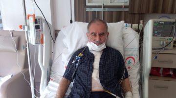 Ömer Çakıcı Bypas ameliyatı oldu