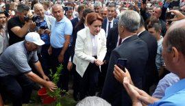 Meral Akşener, İpsala'yı ziyaret etti