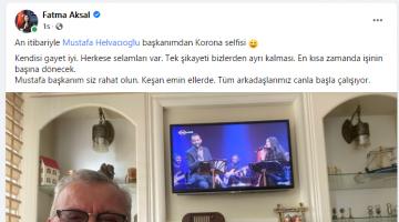 Fatma Aksal'dan Mustafa Helvacıoğlu paylaşımı