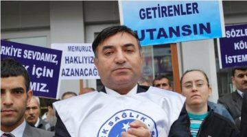 """Türk Sağlık-SenEdirneŞube Başkanı Kanpolat : """"Sağlıkçılara yönelik saldırılar kabul edilemez"""""""