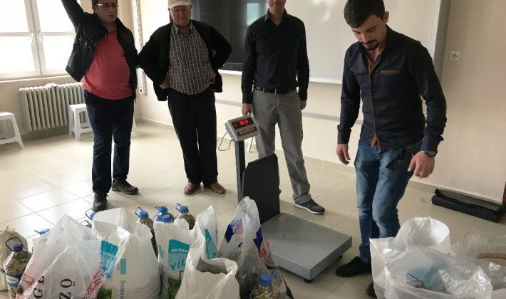 Atık piller Süleymanpaşa Belediyesi ekipleri tarafından toplandı