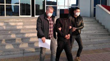 Motorlu testere çalan kişi tutuklandı