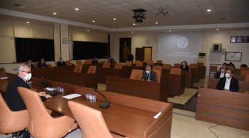 Belediye Meclisi Nisan Ayı Toplantısı'na koronavirüs engeli