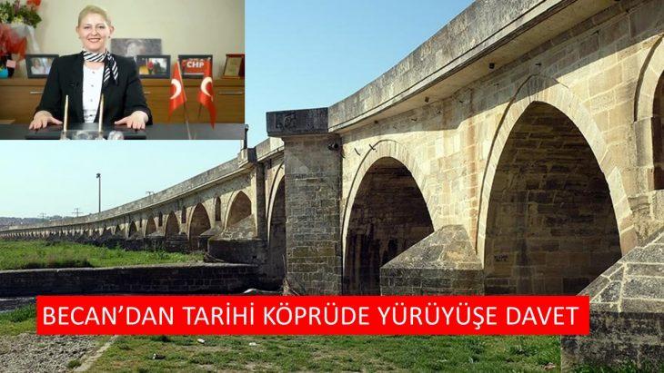 Trakya'nın Tek Kadın Belediye Başkanından Tarihi Köprü Yürüyüşüne Davet