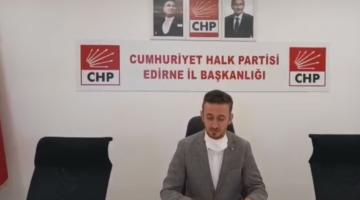 """Edirne'de """"128"""" Pankart Gerginliği"""