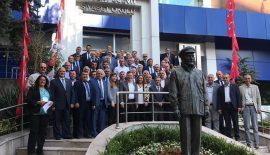 CHP İl Genel Meclis Üyeleri Ankara'da Toplantıya Katıldı
