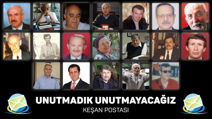 Keşan Postası Edirne'de ve ilçelerinde hayatını kaybeden gazetecileri unutmadı