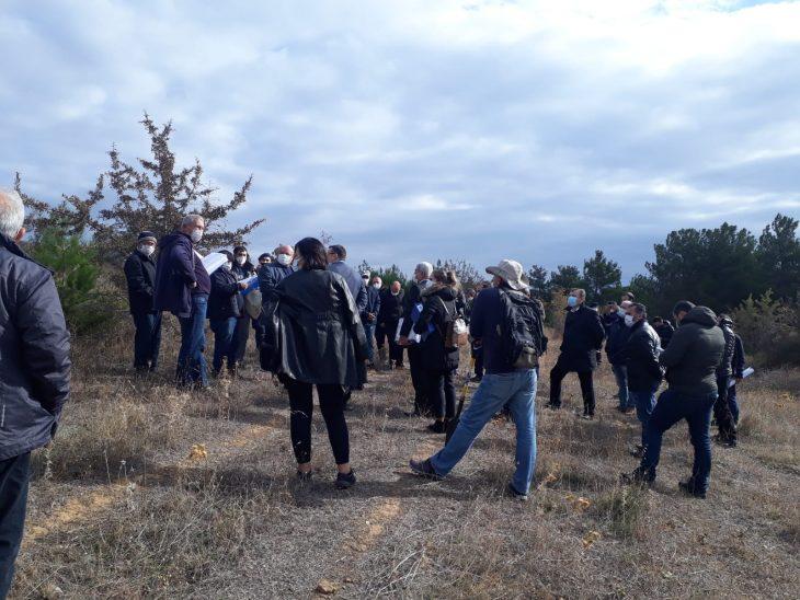 FSRU keşif heyeti Sazlıdere'de