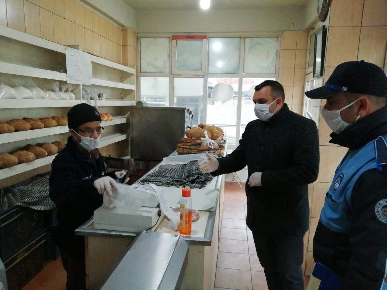 Tekirdağ Şarköy 'de Corona virüs (COVID-19) ile mücadelesi devam ediyor (Videolu)