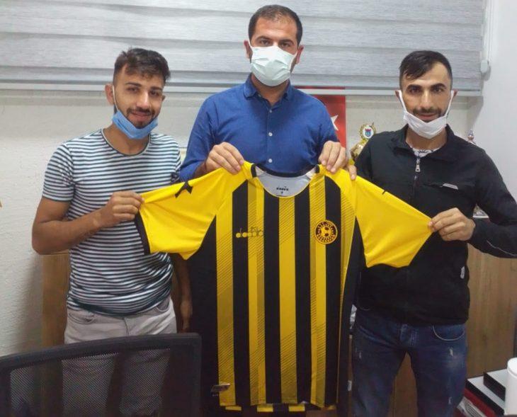 Ahmet ve Hasan Tek artık Keşanpor için koşacak