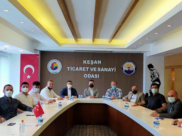 AK Parti Keşan İlçe Yönetimi'nden ziyaretler…