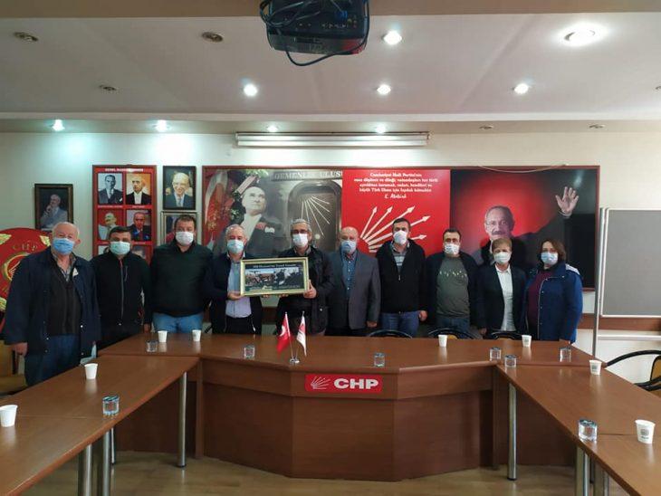 Keşan Ticaret Borsası'ndan CHP Keşan İlçe Başkanlığı'na ziyaret