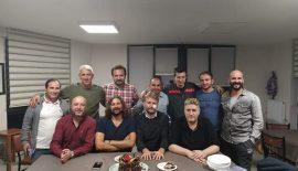 Aytaç Cinci'ye takım arkadaşlarından doğum günü sürprizi
