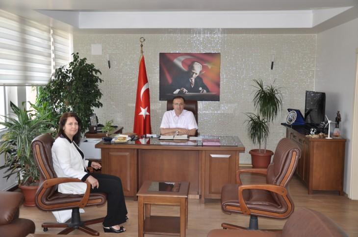 İşkur Müdürü Çidal'dan Dınkırcı'ya ziyaret