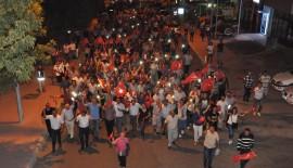 Malkara'da Milli İrade ve Demokrasi Yürüşü Gerçekleştirildi….