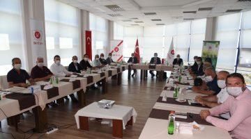 Keşan heyeti Sazlıdere'de yapılması planlanan Saros FSRU Projesi ile ilgili BOTAŞ tesislerini ziyaret etti