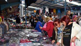 Edirne'nin 'Ulus Pazarı'na Yunan ve Bulgar turist akını