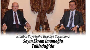 İBB Başkanı Ekrem İmamoğlu, 4 Mart'ta Tekirdağ'a geliyor