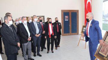 Bülent Türker'den Ergene Belediyesi'nde Atatürk objeleri sergisi