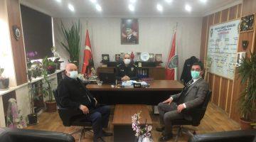 MHP'den Keşan İlçe Emniyet Müdürü Mehmet Tekin'e ziyaret