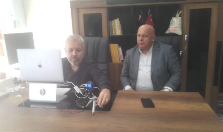"""CHP Edirne İl Başkanı Fevzi Pekcanlı, Saros TV'de """"Gündem Özel""""programına konuk oldu"""