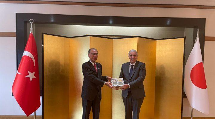Hüseyin Bağcı'ya Japonya Büyükelçisi'nden ödül…