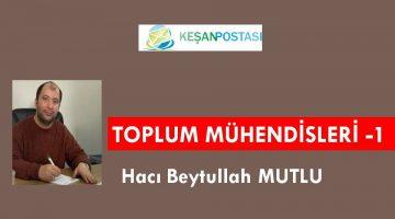 TOPLUM MÜHENDİSLERİ -1