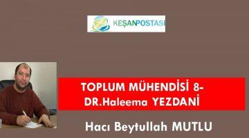 TOPLUM MÜHENDİSİ 8-DR.Haleema YEZDANİ