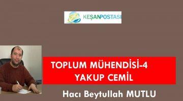 TOPLUM MÜHENDİSİ-4 YAKUP CEMİL