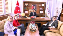 Taekwondo da Türkiye ve Dünya 3.Sü Olan Ege Mutlu'dan Milli Eğitim Müdürlüğü'ne Ziyaret