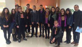 Uğur Okulu Öğrencileri Adliye Sarayı'nda konuk oldular…