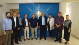 Başkan Gürkan'dan AK Parti İl Başkanı Akmeşe'ye Ziyaret…
