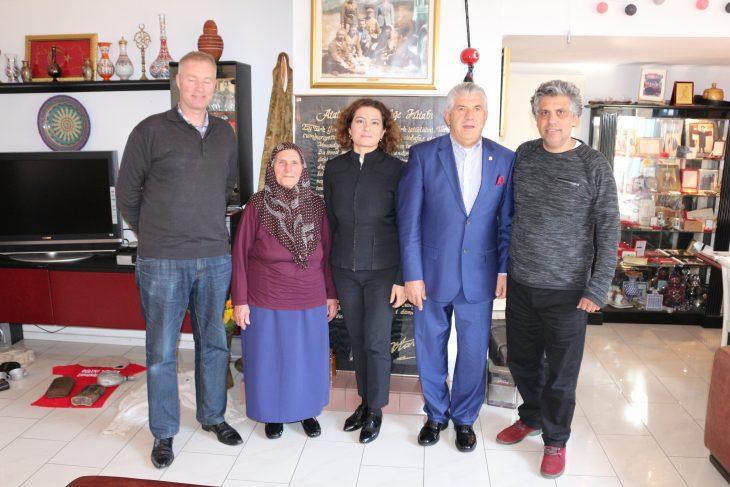 Hollandalı Tarihçiden, Çanakkale ve Atatürk Müzesi'ne Ziyaret…