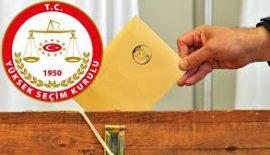 24 Haziran'da Edirne'de 8 Partiden 32 ve 1 Bağımsız Aday Yarışacak.