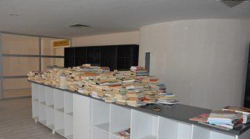 Keşan Belediyesi Kütüphanesine bağışlar devam ediyor