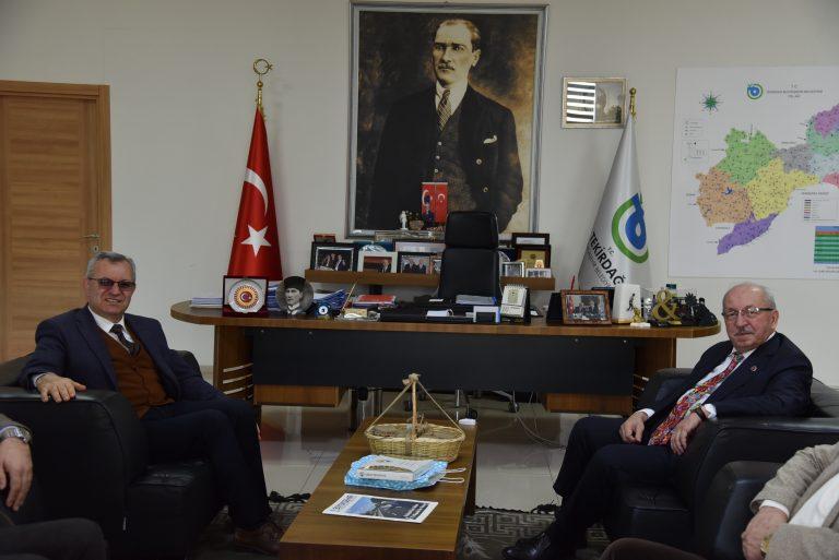 Mustafa Helvacıoğlu'ndan Tekirdağ Ziyaretleri
