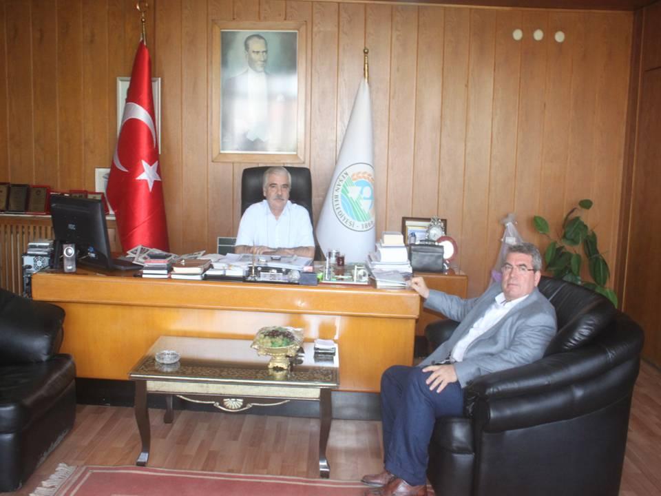 Kemal Değirmendereli'den Mehmet Özcan'a ziyaret…