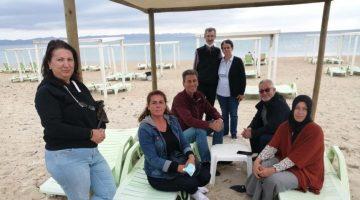 Keşan Belediyesi'nin emeklilere tatil kampanyasında 10 aile tatilini yaptı