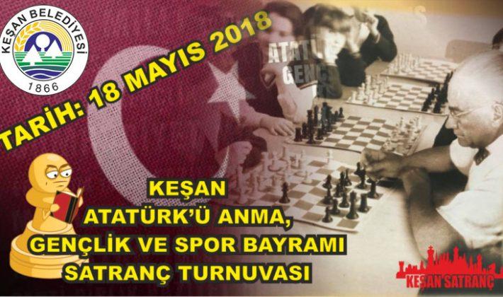 Keşan Belediyesi Satranç Turnuvası Düzenleyecek